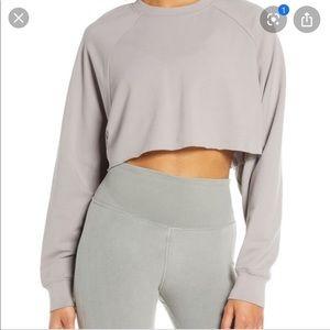 Alo DoubleTake Crop Sweatshirt